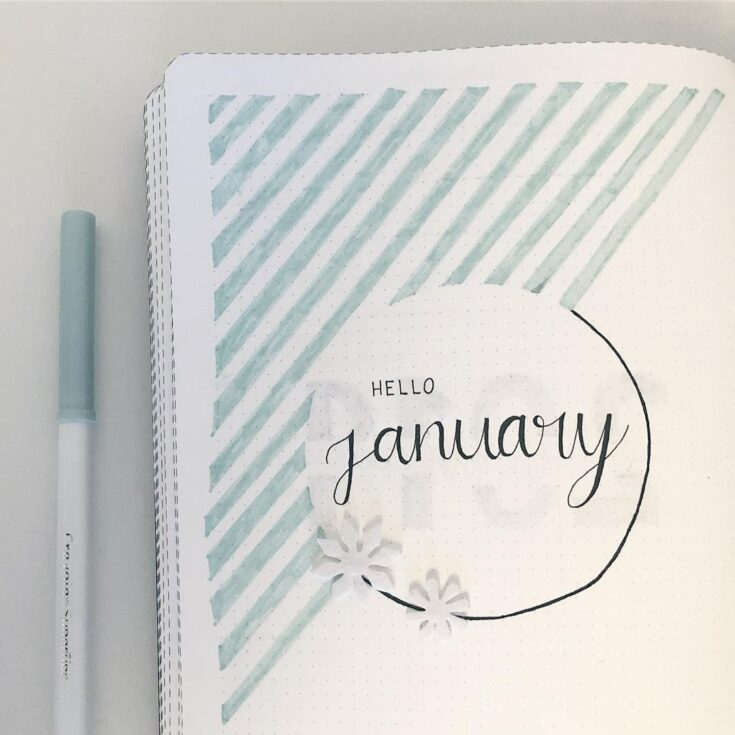 31 January Bullet Journals: Get Ready for The Start of Something New |  LittleCoffeeFox